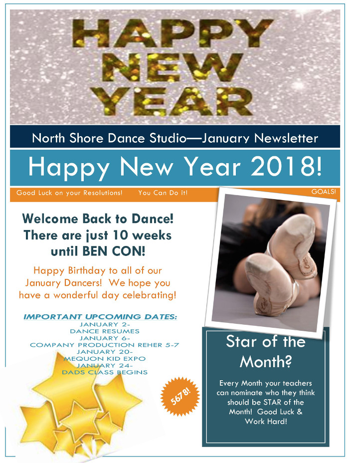 nsds studio newsletter